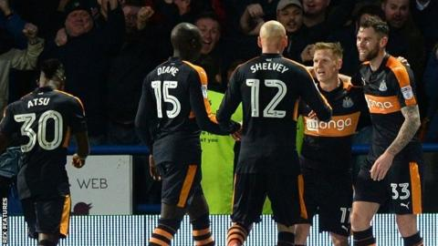 Newcastle celebrate