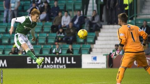 Simon Murray completed his hat-trick with a well-taken volley