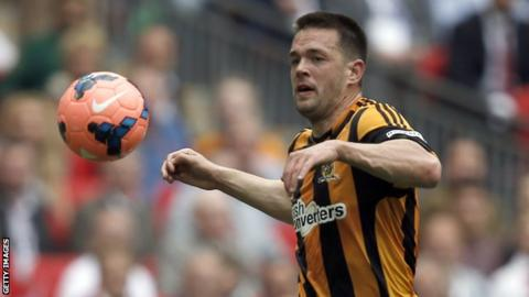 Matty Fryatt in action for Hull City in the 2014 FA Cup final