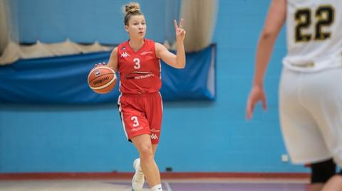 Giulia Simioni of Team Northumbria