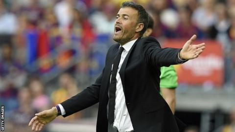 Barcelona coach Luis Enrique wants a full investigation into allegations surrounding next month's El Clasico