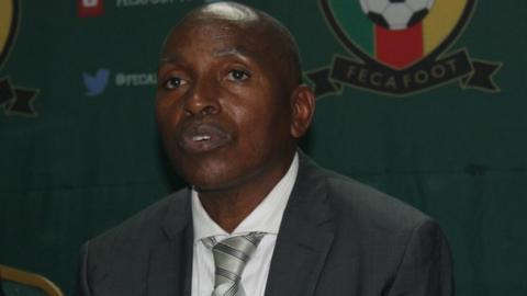 Cameroon interim coach Alexandre Belinga