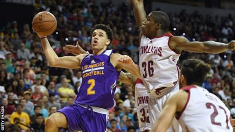b76b4b96486 Lonzo Ball was the recent NBA Summer League s Most Valuable Player -  averaging 16.3 points