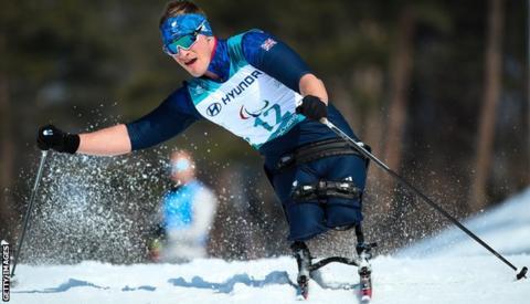 ParalympicsGB sit-skier Scott Meenagh