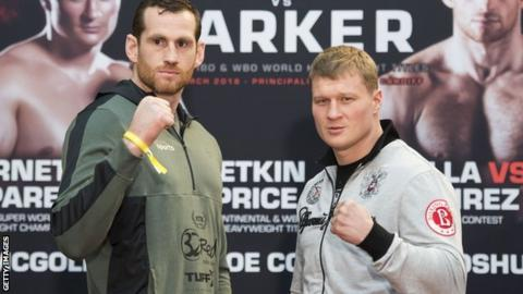 David Price and Alexander Povetkin