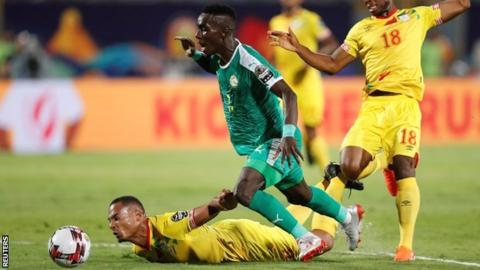 Africa Cup of Nations: Senegal 1-0 Benin