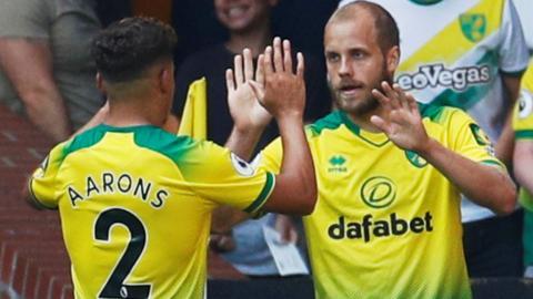 Norwich City's Teemu Pukki