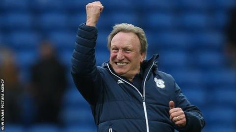 Neil Warnock celebrates