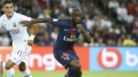 Paris Saint-Germain agree to release Lassana Diarra after contract agreement