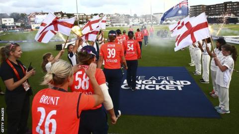 England walk out at Hove