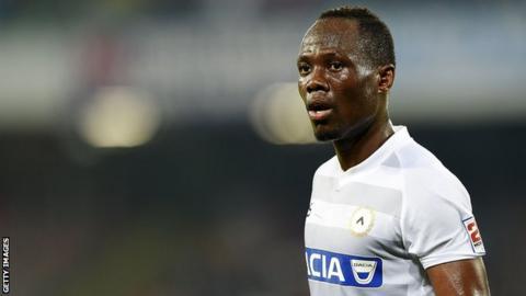 Ghana's Emmanuel Agyemang-Badu