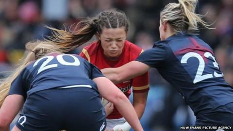 Wales women v England