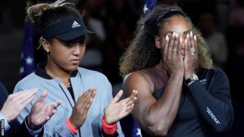 Serena Williams and Naomi Osaka