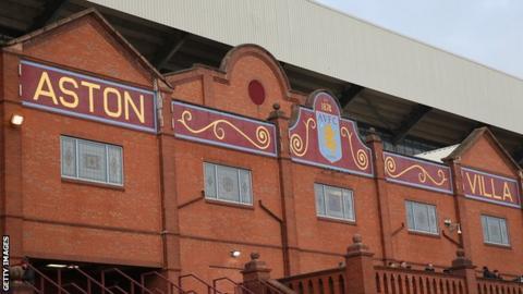 Villa Park, home of Aston Villa