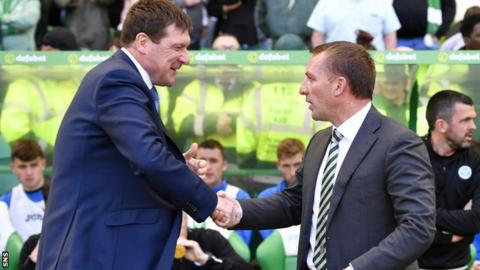 Tommy Wright and Brendan Rodgers