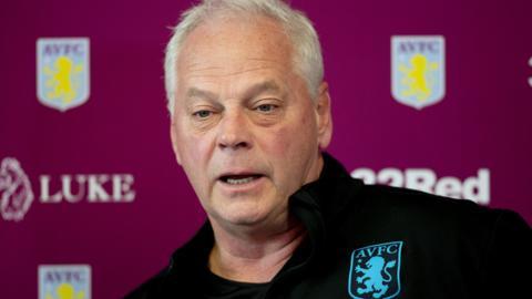 Aston Villa under-23s coach Kevin MacDonald