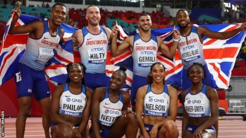 Great Britain's relay teams