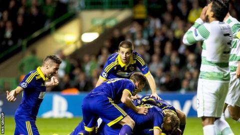 Maribor are unbeaten on their last three visits to Scotland