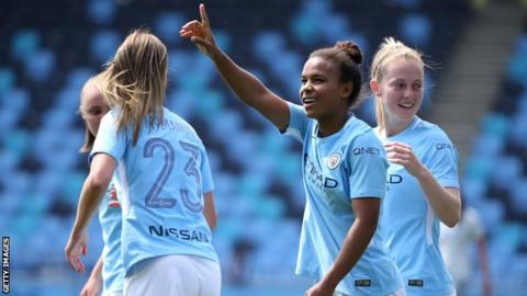 Manchester City forward Nikita Parris