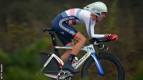 Scott Davies cycling