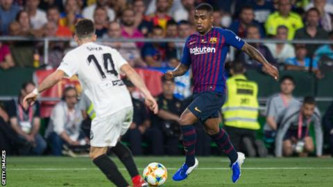 Barcelona announces Malcom transfer to Zenit Saint Petersburg