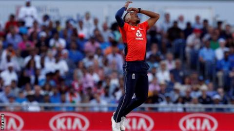 England sets India 199 to win series-decider 3rd T20