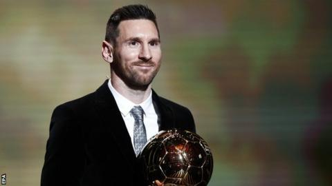 Lionel Messi: Barcelona ahead wins Ballon d'Or for file sixth time thumbnail