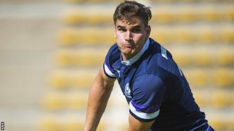 James Lang trains with Scotland on their summer tour