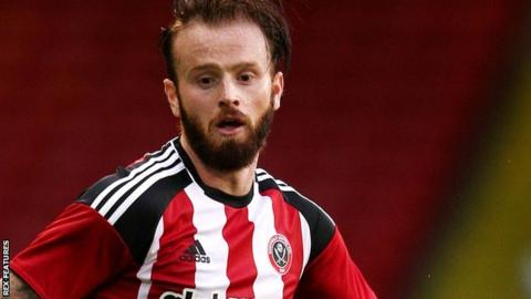 John Brayford in action for Sheffield United