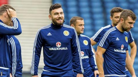 Scotland midfielder Robert Snodgrass