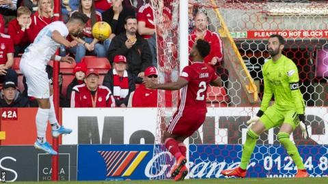 Antonio Colak's header killed the tie at Pittodrie