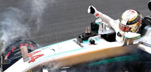 Lewis Hamilton at the European Grand Prix