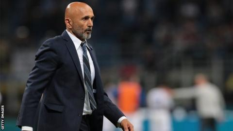 Coach Spalletti leaves Inter Milan