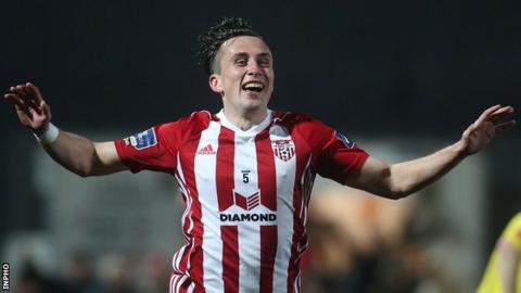 Aaron McEneff's sixth goal of the season gave Derry City an early lead