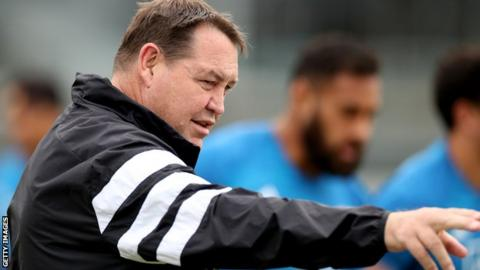 Beauden Barrett Like Ireland's Joe Schmidt, All Blacks head coach Steve Hansen is stepping down after the World Cup meaning one of them is preparing for their last game in charge