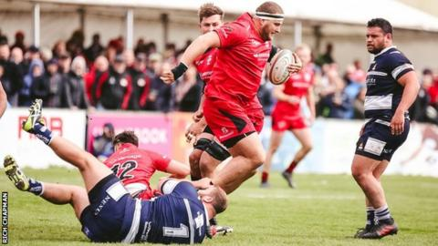 Jersey Reds v Coventry