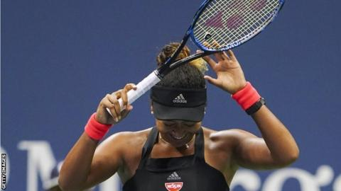 Naomi Osaka heading a 'new generation'
