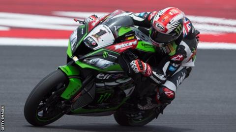 Jonathan Rea was World Superbike champion in 2015 and 2016