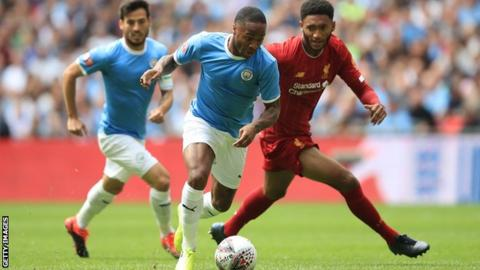 Liverpool form pushing Man City admits Raheem Sterling as Reds sent warning