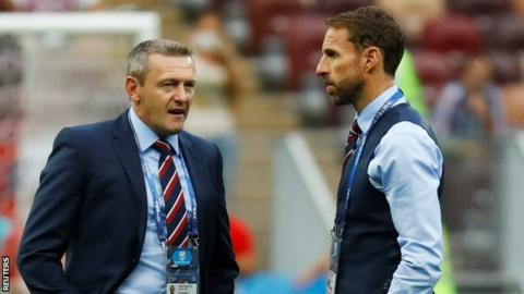 Boothroyd (left) has guided his side to top spot in their Euro 2019 qualifying group