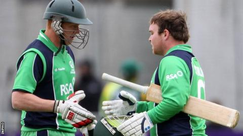 Kevin O'Brien and Paul Stirling will be part of the Ireland squad for the historic series against England