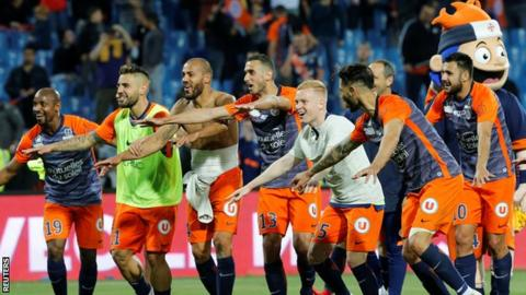 Montpellier beat Paris St-Germain