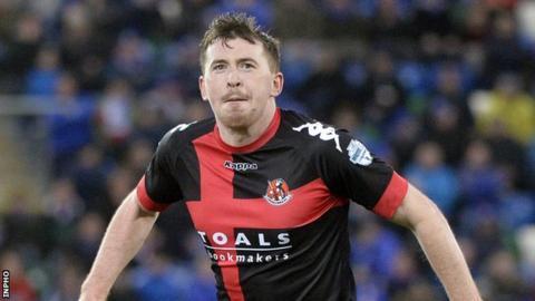 Billy Joe Burns equalised with a stunning long-range effort for Crusaders