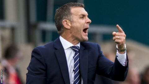 Jim McIntyre was sacked by Ross County eight days ago