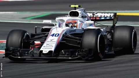 Robert Kubica of Williams