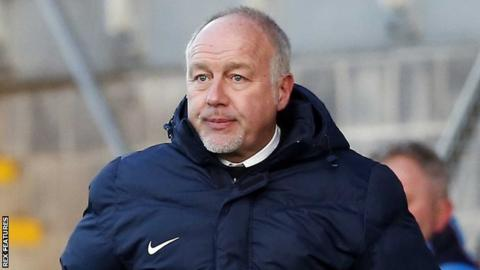 Torquay United manager Gary Owers