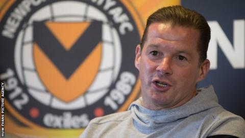 New Newport County manager Michael Flynn