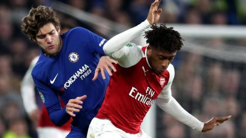 Arsenal host Chelsea in the Carabao Cup
