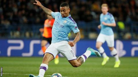 Man City held to tie by Shakhtar, advance in Champions League