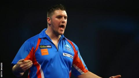Londonderry player Daryl Gurney